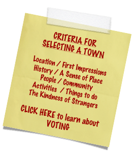 CRITERIA FOR 