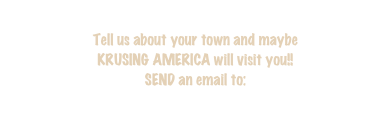 Tell us about your town and maybe 